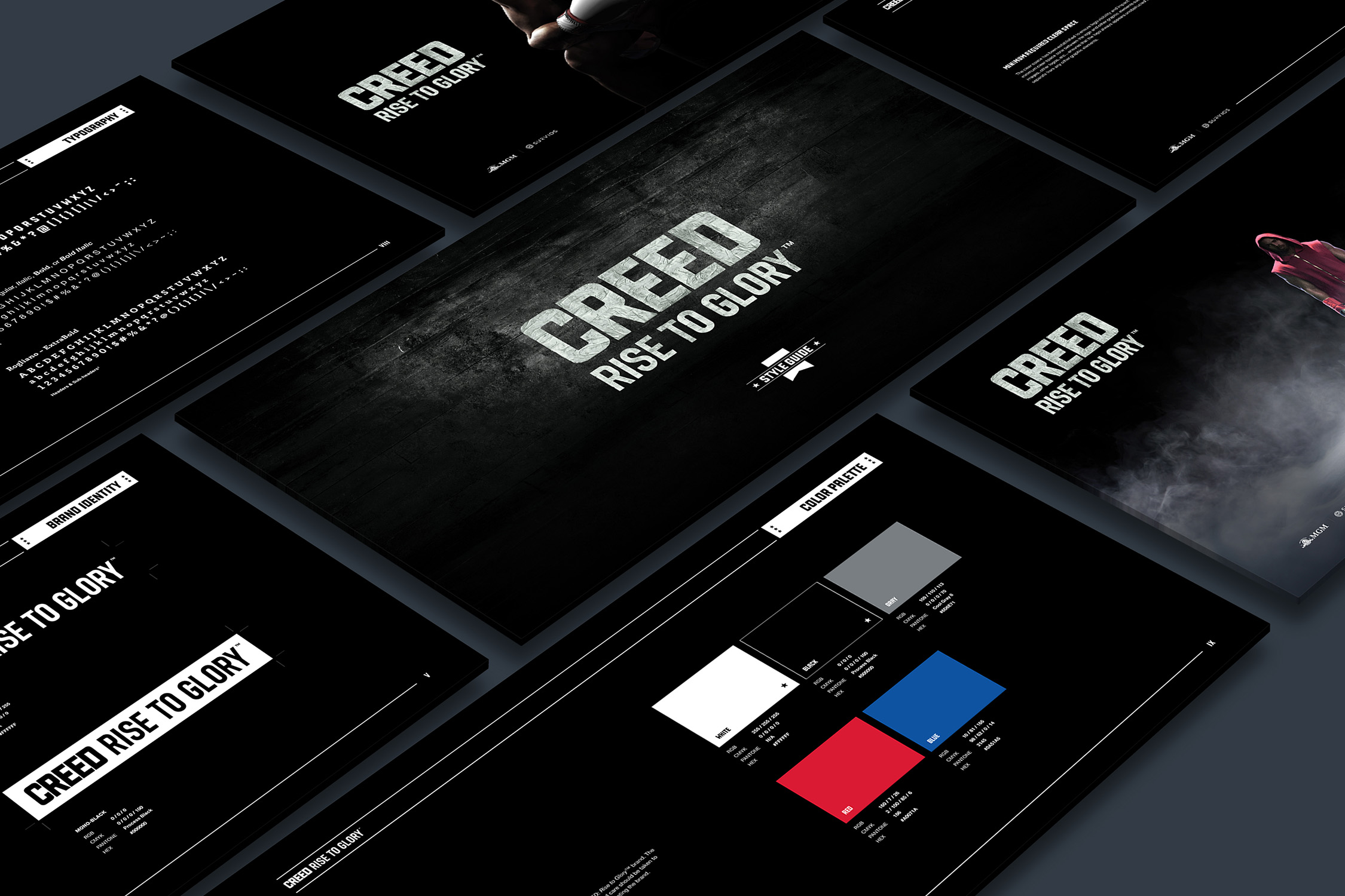 Creed Rise To Glory VR Game Brand Guidelines