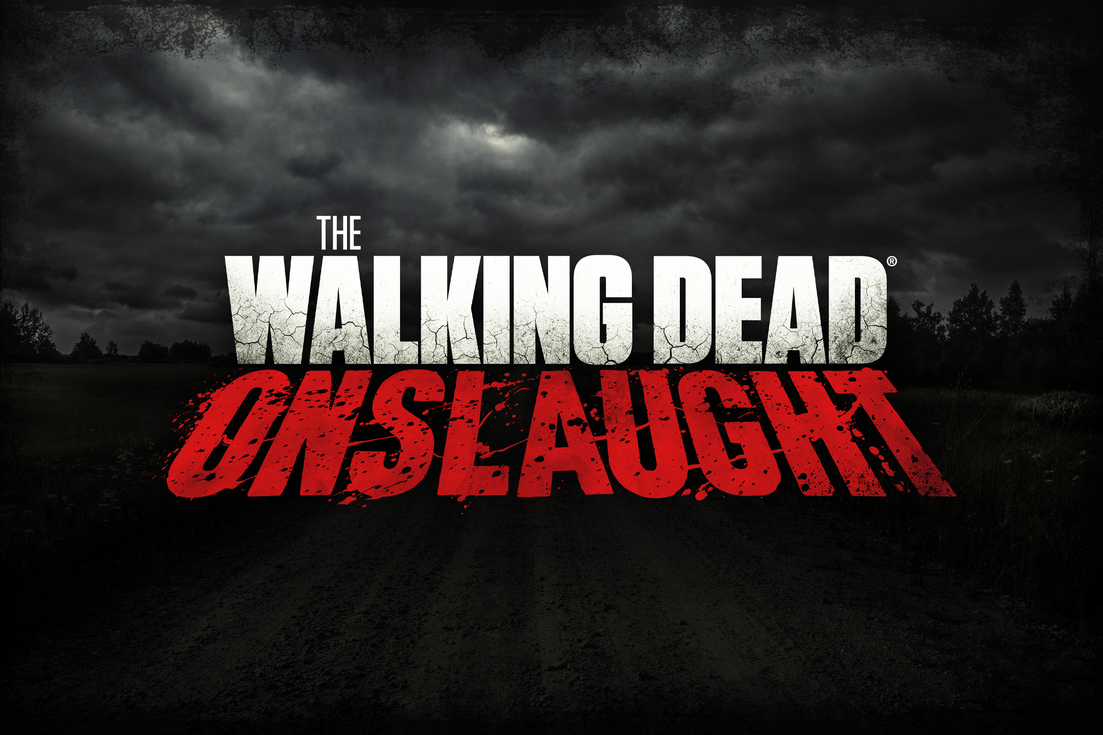 The Walking Dead Onslaught Logo